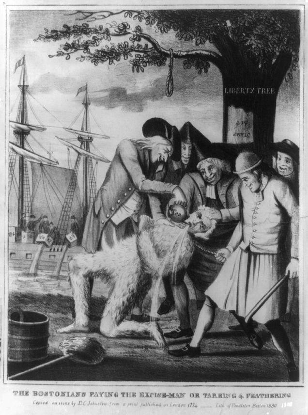 1774_Bostons_Paying_TheExciseMan_byDCJohnston1830_LibraryOfCongress